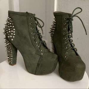 Jeffery Campbell Studded Boots
